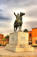 Statue of Ibrahim Pasha at the Cairo Citadel - Egypt