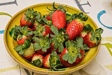 Fresas en cuenco 2