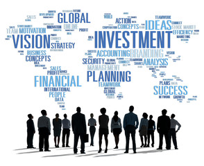 Investment Global Business Vision Planing Concept