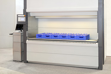 Automated storage carousel