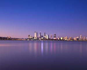 Perth City Lights, Western Australia, Australia