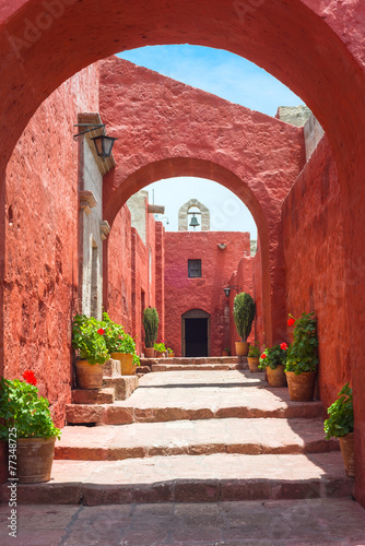 Santa Catalina Monastery, Arequipa, it's the most important reli