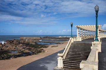 Pergola da Foz at Praia do Molhe Beach in Porto