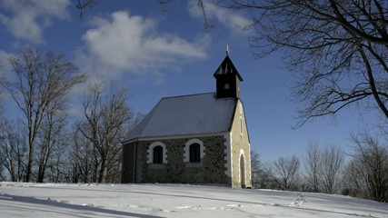 chapel on medvednica