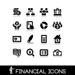 Financial icons - Set 5