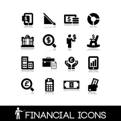 Financial icons - Set 9