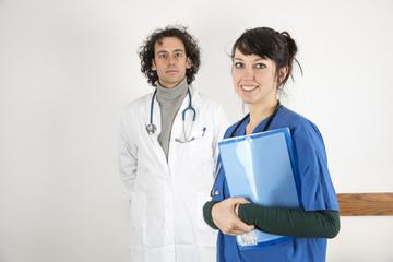 medico e infermiera
