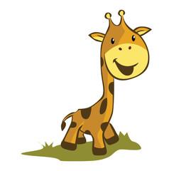 Giraffe Illustration Cartoon