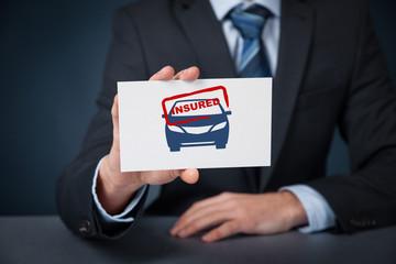 Insured car