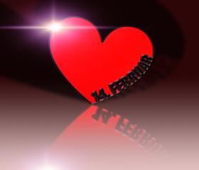 Herz - Valentin - Flare