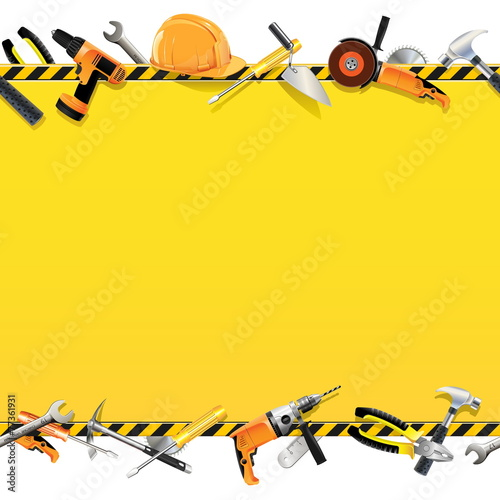 Vector Construction Background - 77361931