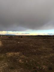 campo seco invierno