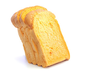 Carrot fresh bread thick sliced layers