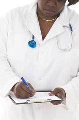 Porttrait Medecin  africain