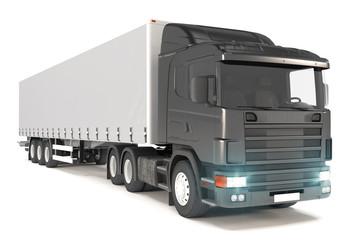 cargo truck - black - shot 11
