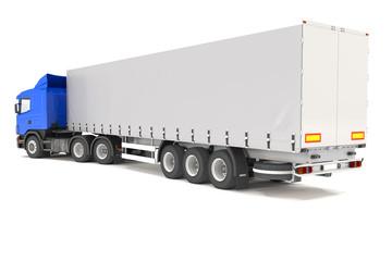 cargo truck - blue - shot 06