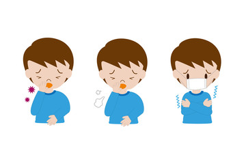 子供の病気の症状