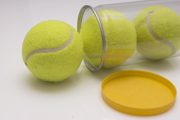 tenis, top, tennis topu
