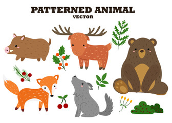 Patterned Animal Vector