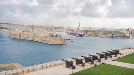 Puerto de la Valeta, Isla de Malta