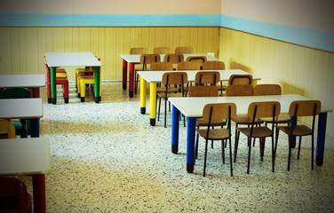 refectory of the kindergarten