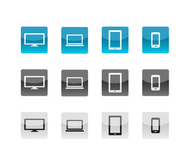 Devices Glass Icons