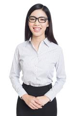 business asia woman portrait.
