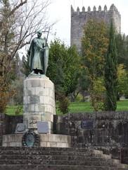 Don Alfonso Henriques Statue - Guimaraes, Portugal