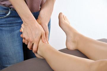 Osteopathie bei Fußbehandlung durch Heilpraktiker