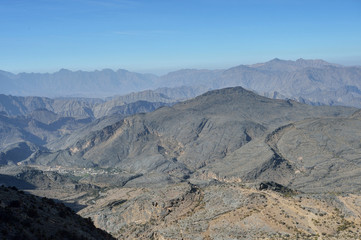 Mountains, Jabal Nakhal, Sultanate of Oman