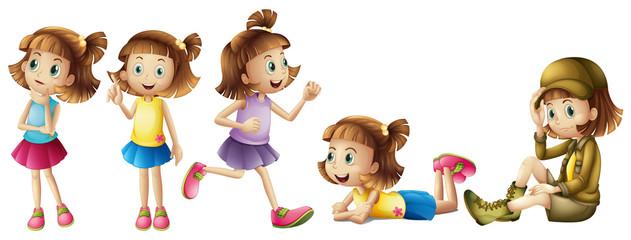 Five adorable kids