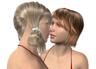 Girls in Love - 3D