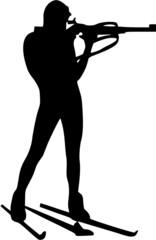 Biathlon Silhouette