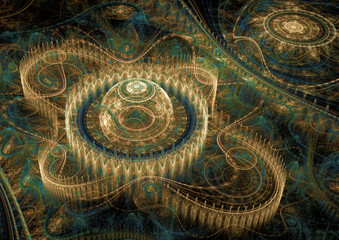 3D abstract fractal design