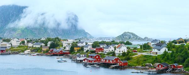 Summer village Reine (Lofoten, Norway).