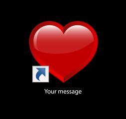 kalp, kısayol