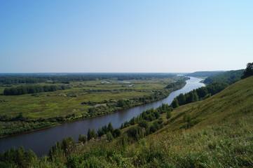 Вид на реку Клязьма