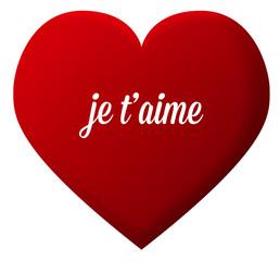 cœur amour je t'aime st valentin