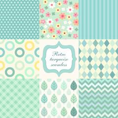 Set of seamless patterns 4