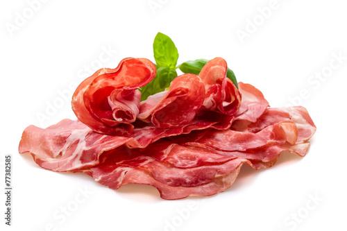 Fotobehang Snack Coppa di Parma