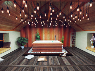 beautiful bath  (3d concept)