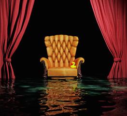 flooding  interior  (3d concept)