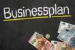 Tafel mit Geld - Businessplan