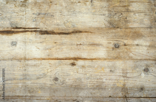 canvas print picture Wooden boards background