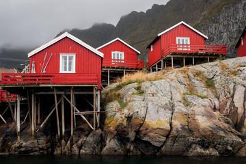 Fischerdorf auf den Lofoten