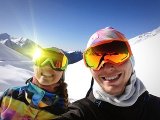 sciare in coppia