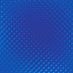 blue abstract background - vector illustration