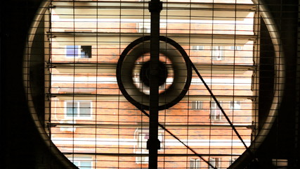 Air wall fan used to ventilate modern factory, China