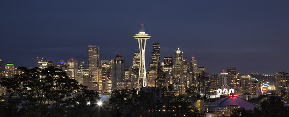 USA, Washington, Cityscape of Seattle