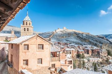 Spain, Aragon, Teruel Province, Albarracin, Medieval walled town